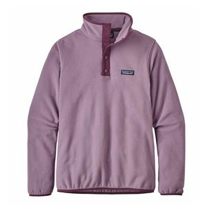 💜NWT Patagonia Micro D Snap T Pullover Purple
